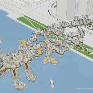 Hudson Urban Pier: Proposal on Site