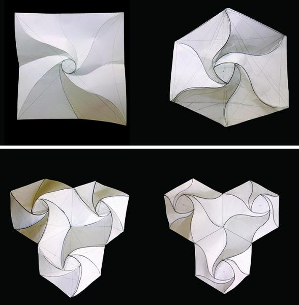 mathematics through paper folding Unlike traditional origami that uses a single sheet of paper to fold a figure,  the  math comes entirely through the discussion as you guide the.