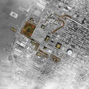 Aerial View - Bringing the renowned catskill landscape to Manhattan